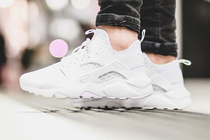 Nike Air Huarache Ultra Br Triple White 7