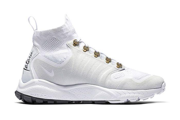 Nike Zoom Talaria Mid Flyknit White 1