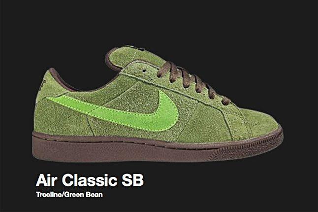 Nike Green Bean Air Classic Sb 2007 1