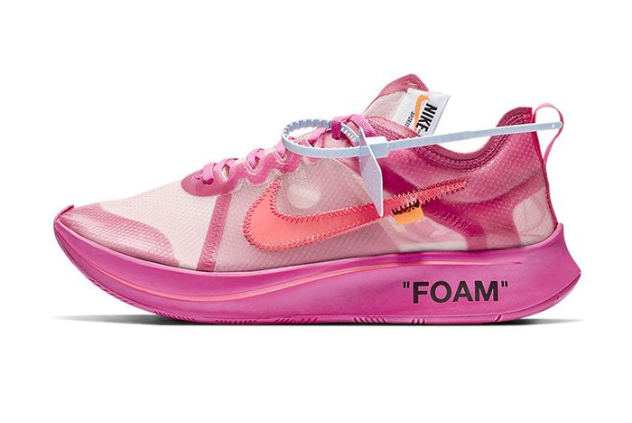 Off White Nike Zoom Fly Sp Black Pink Official 6