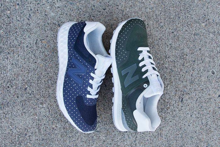 Mita Sneakers New Balance Polka Dots 1