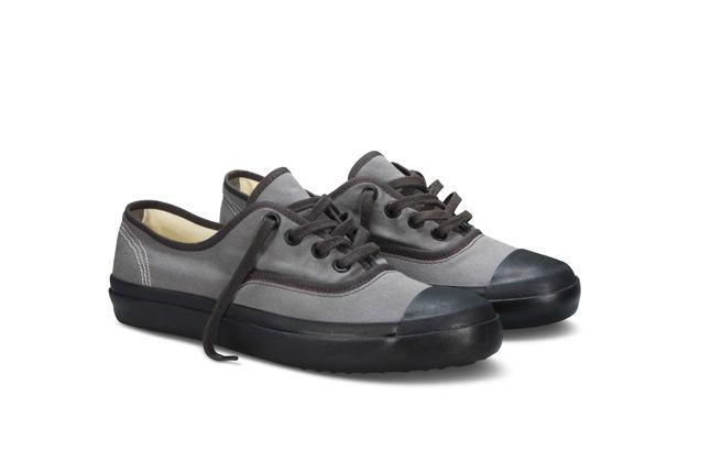 Nigel Cabourn Converse Plimsole Grey Pair 1