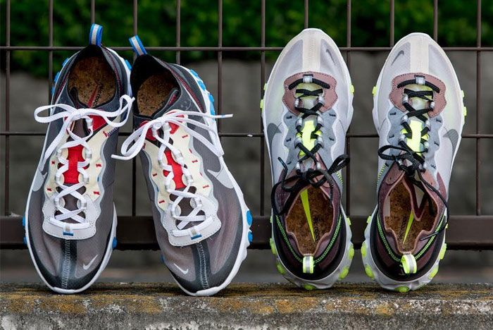 Nike Element React 87 New Colourways Release
