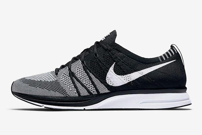 Nike Flyknit Trainer Oreo Black White 9