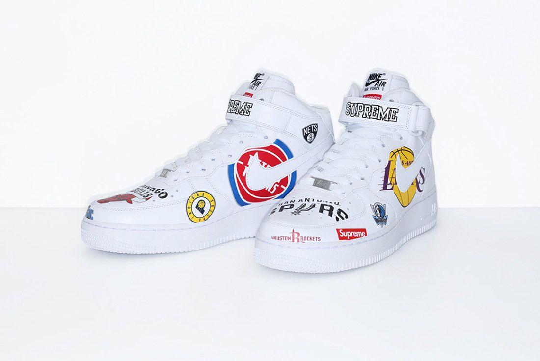 Supreme Nike Nba Air Force 1 High Sneaker Freaker 27