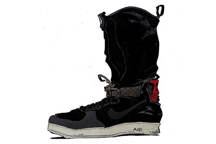 Acronym X Nike Air Force 1 Downtown5