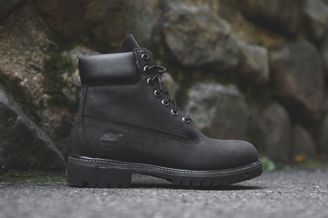 Timberland Boot Triple Black 2