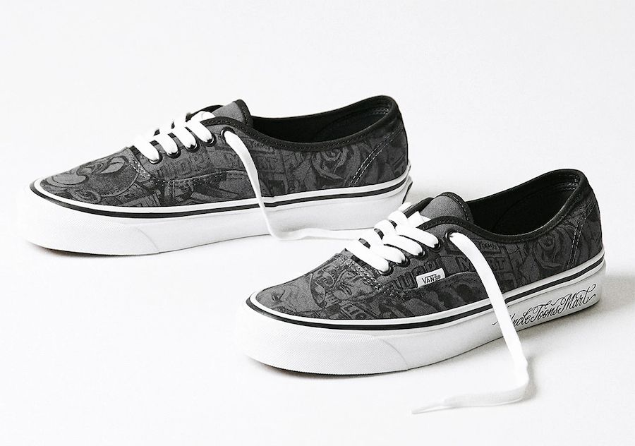 NEIGHBORHOOD Mister Cartoon Vans Authentic Angled