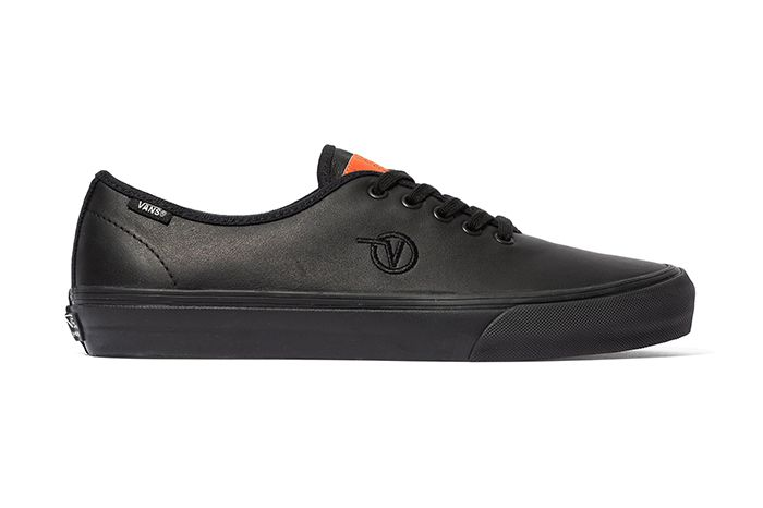 Taka Hayashi Vans Authentic One Piece Black Leather Release Date Lateral