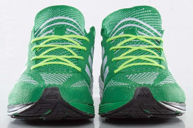 Adidas Primeknit Olympics Prime Green Front 1