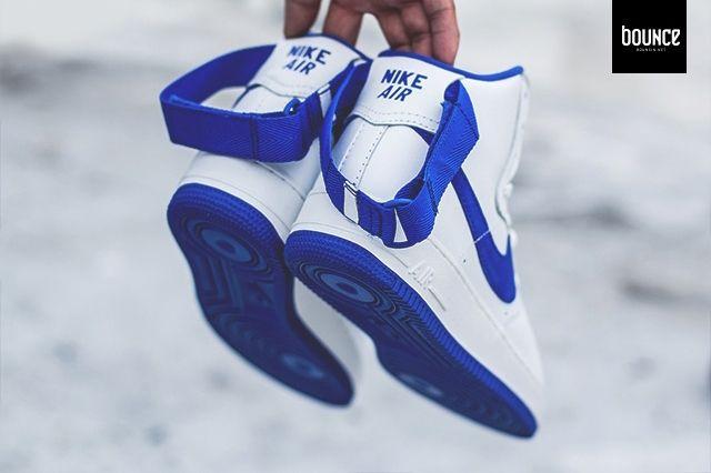 Nike Af1 High Summit White Royal Blue 1