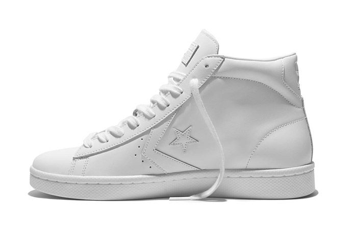 Converse Pro Leather 76 Mono High White 2