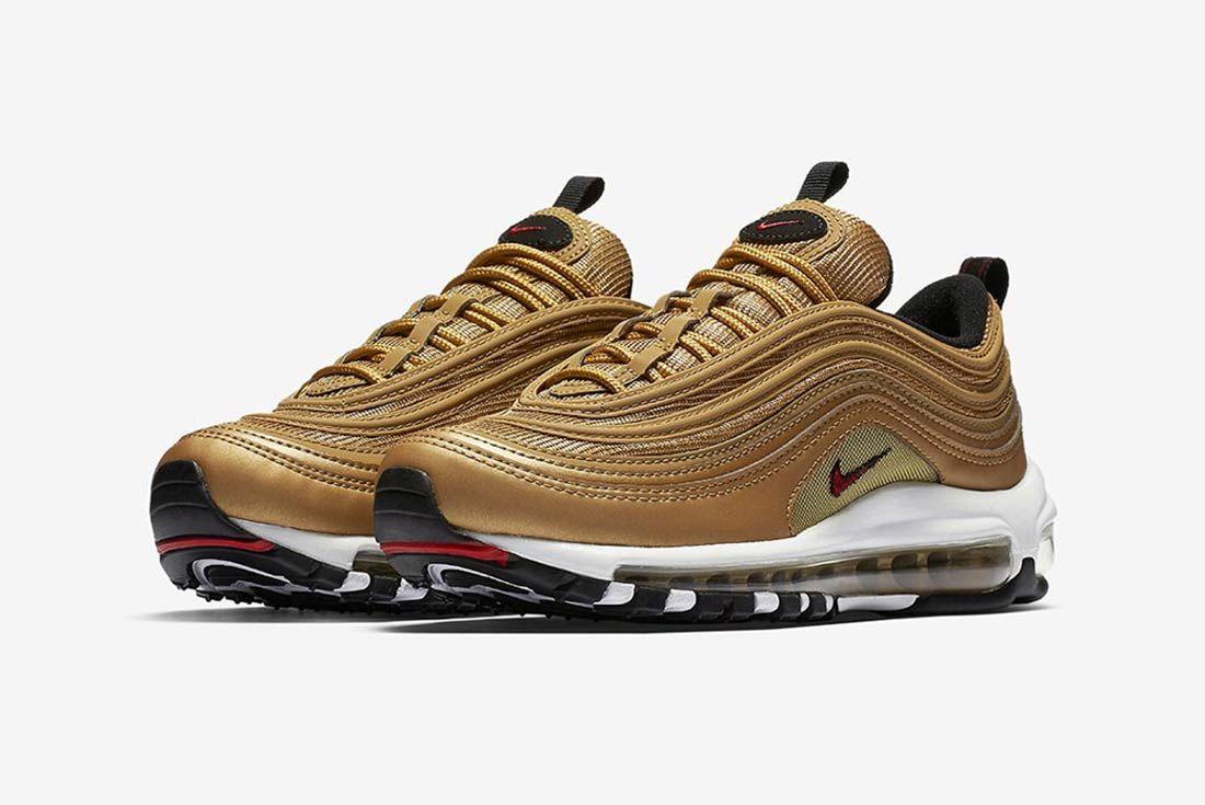 Nike Air Max 97 Metalic Gold 2