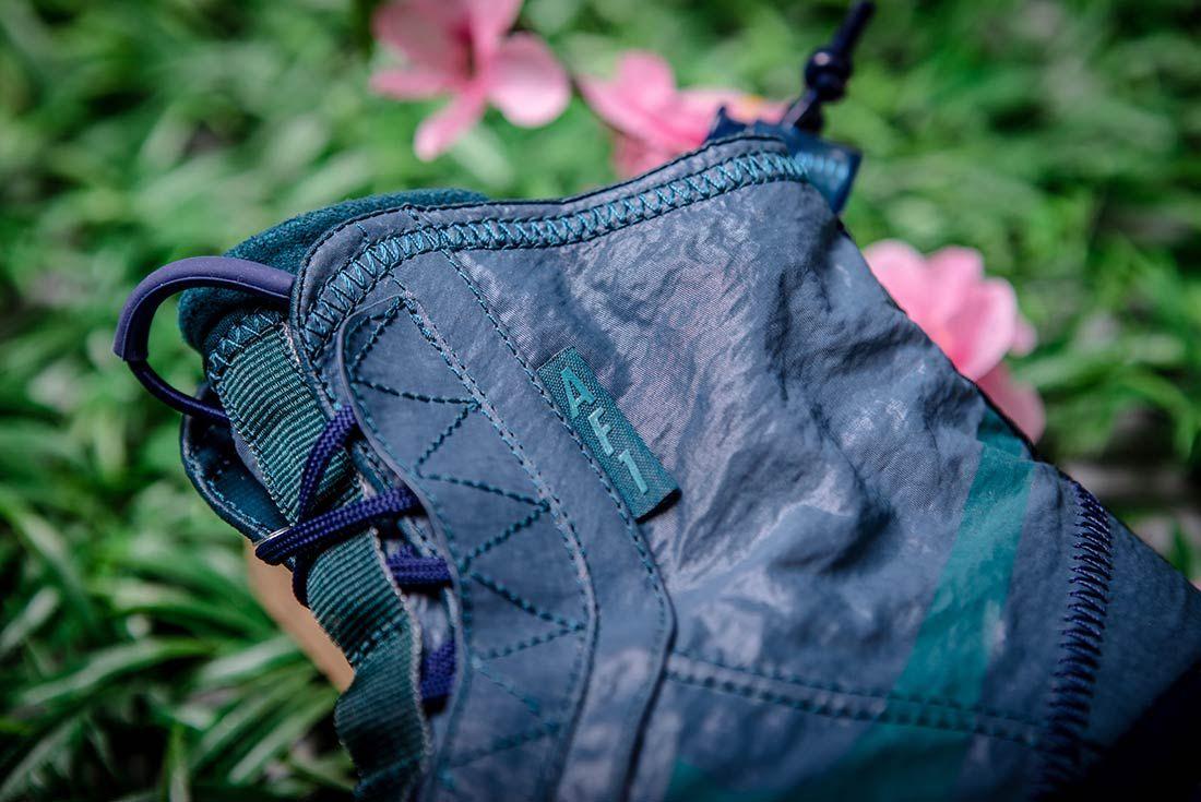Nike Air Force 1 High Shell Blue Detail