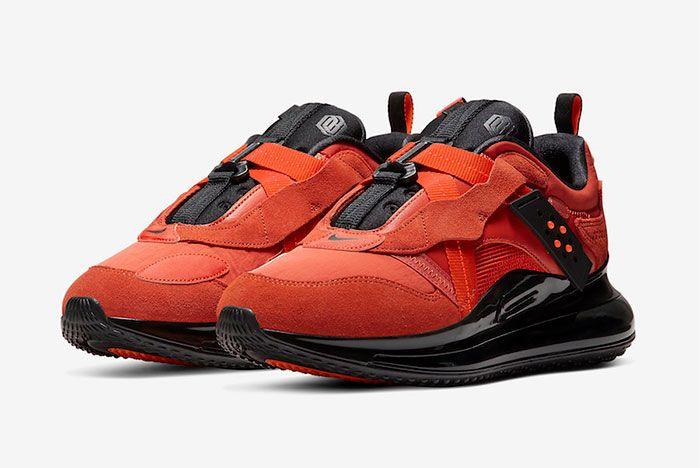 Nike Air Max 720 Slip Obj Team Orange Da4155 800 Release Date 4 Official