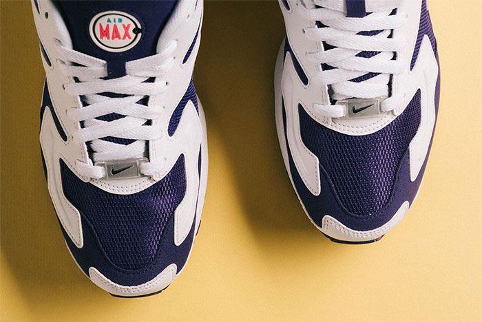Nike Air Max 2 Light Court Purple Toe