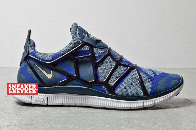 Nike Free Alt Closure Run Purp Side 1