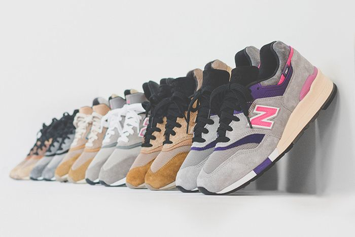 Ronnie Fieg New Balance 997 Kith United Arrows Nonnative 1