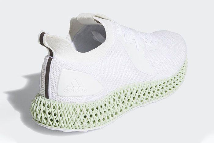 Adidas Alphaedge 4 D White Back Quarter