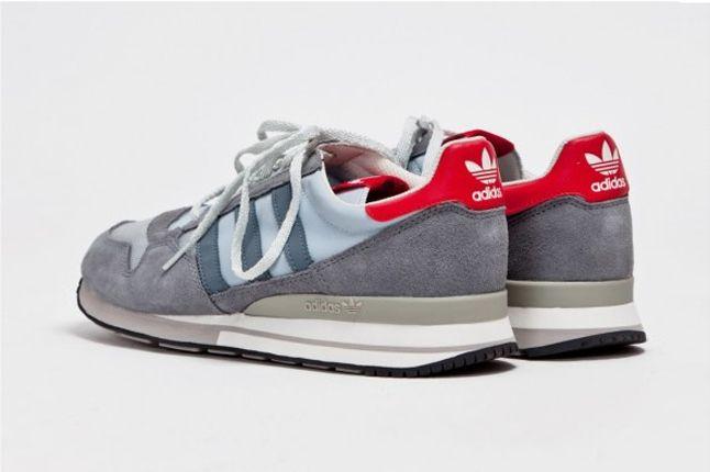 Adidas Zx 500 Og Grey Heel Profile 1