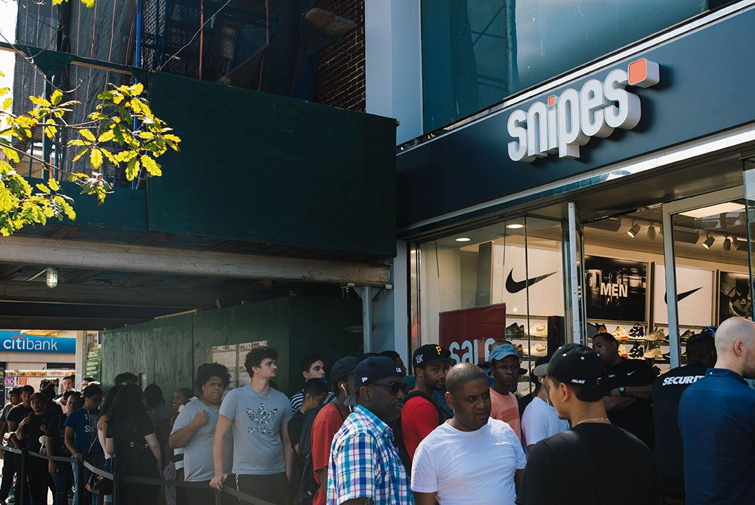 Snipes Store Opening Brooklyn Store Shot10
