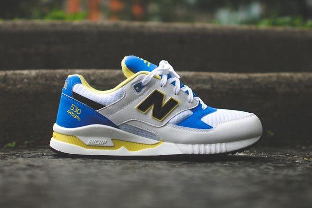 New Balance 530 Og Blue Yellow 3