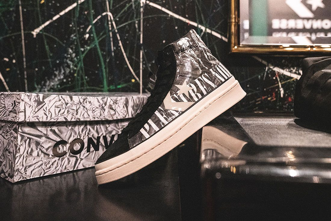 Pleasures X Converse Pro Leather Alex James Interview Hero17