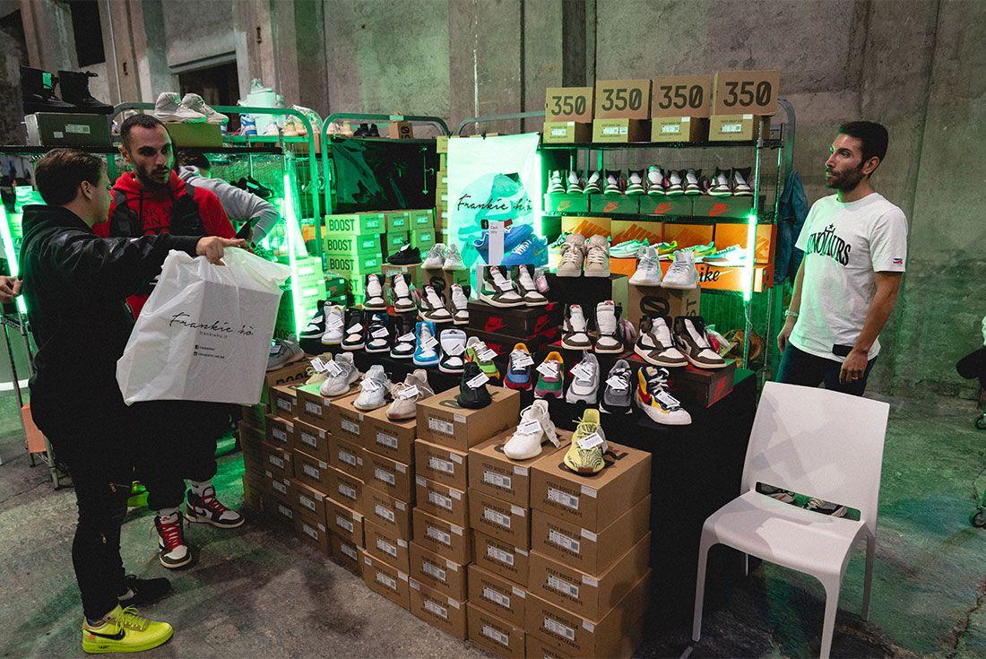 Sneakerness Milan Sneaker Freaker Vendor Tables31