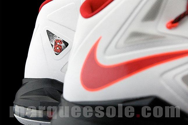 Nike Lebron X Home Close Up 1