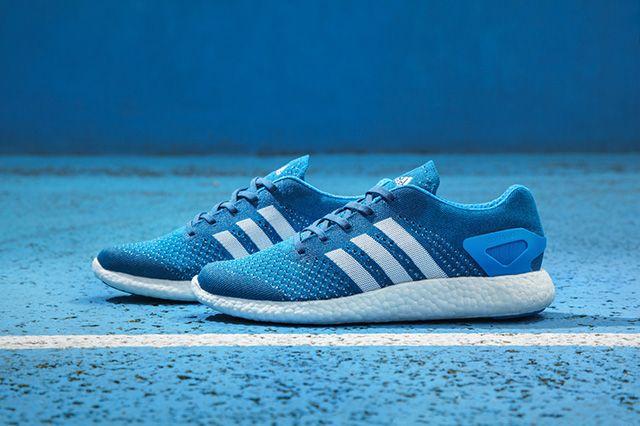 Adidas Primeknit Pure Boost Solar Blue 6