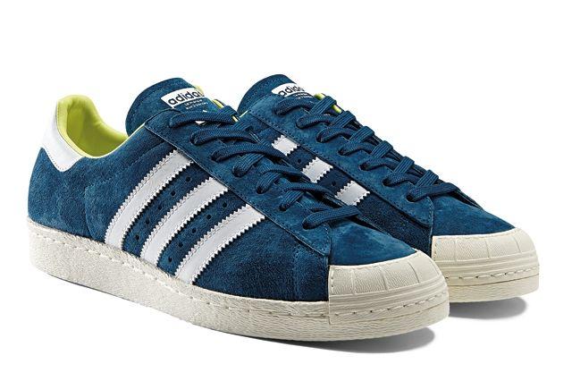 Adidas Originals Ss14 Halfshell 80S Blue