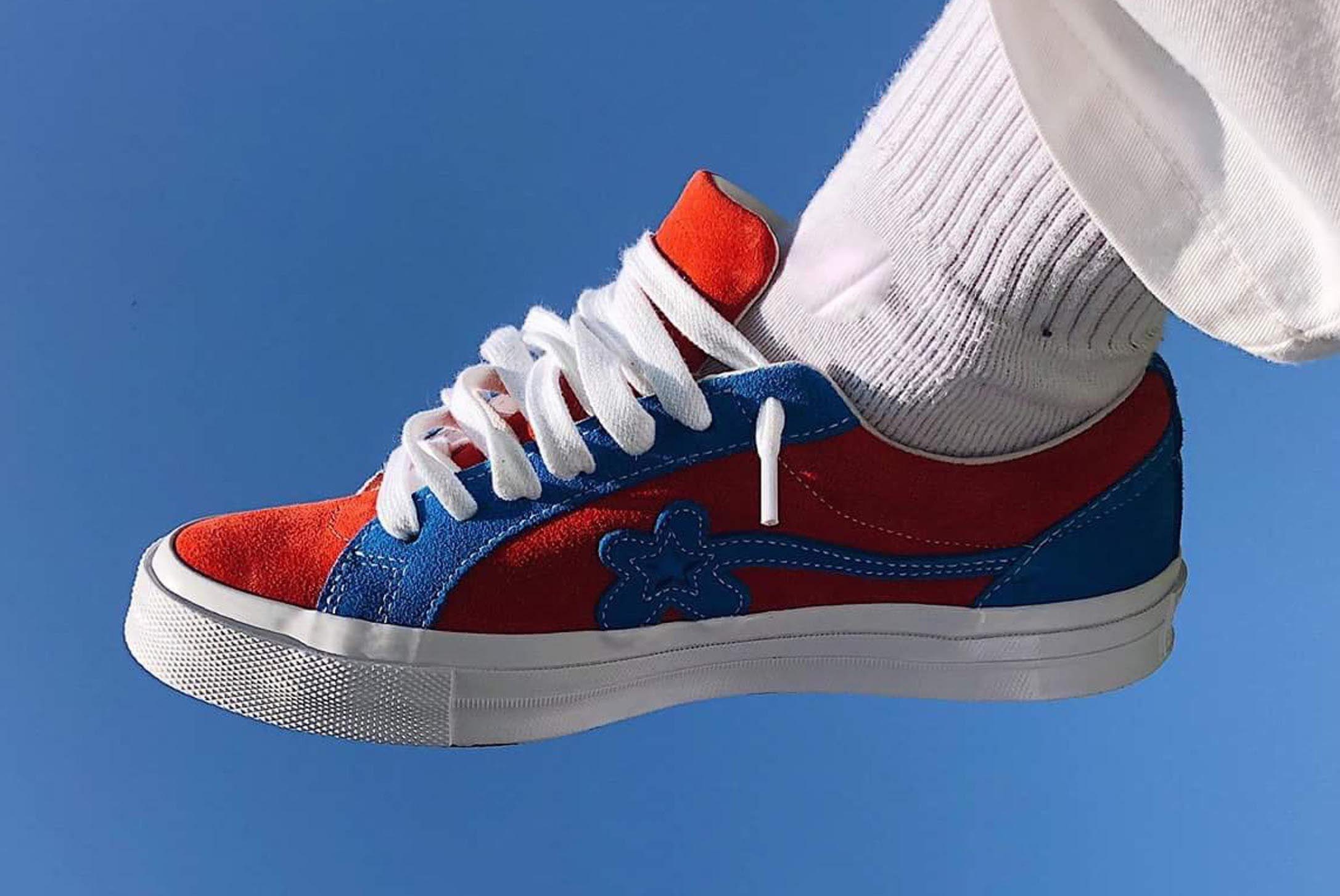 Golf Le Fleur Red Blue Converse Tyler The Creator Leo Mandella 1 Sneaker Freaker