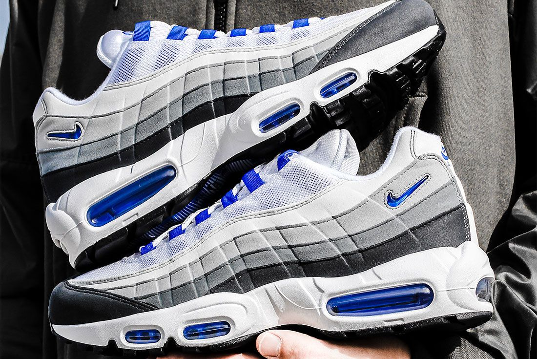 Nike Air Max 95 Grey Blue Hold