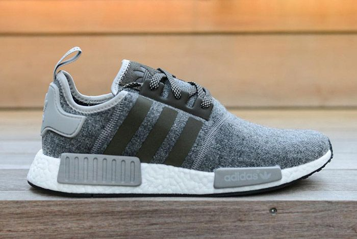 Adidas Nmd Wool Pack Grey 1