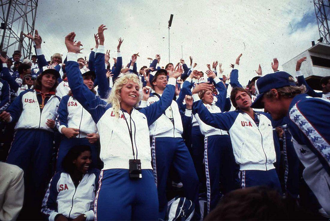 Kappa Usa Track And Field Olympics Hands Upo