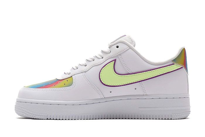 Nike Air Force 1 Low Easter 2020 Cw0367 100 Medial Side Shot