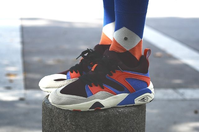 Sneakerness Paris Puma Blaze Of Glory On Feet 1