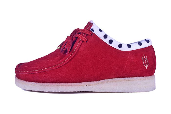 Kwills Padmore Barnes Wallabee Coronation Red Release Date Lateral