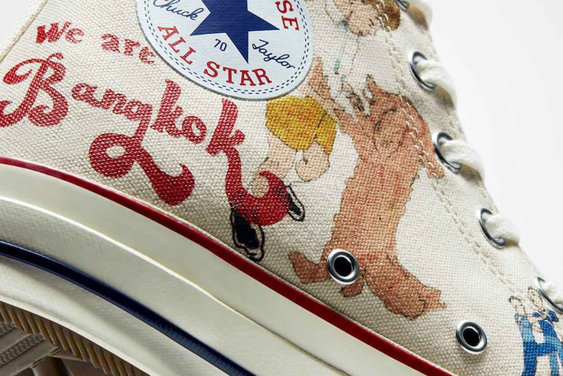 Spencer McMullen x Converse Chuck 70 Detail