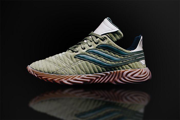 Adidas Sobakov Green Grey 2
