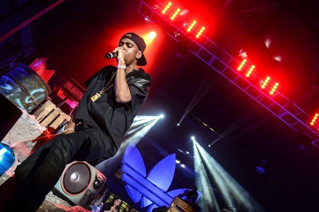 Adidas Originals Los Angeles Pop Up Concert Little Sean 1