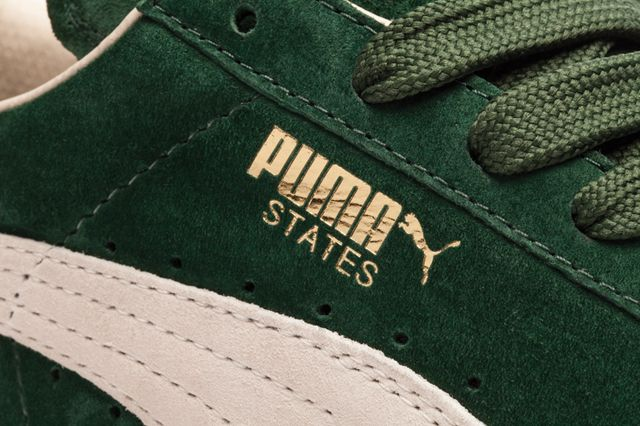 Puma States Green Closeup Bump