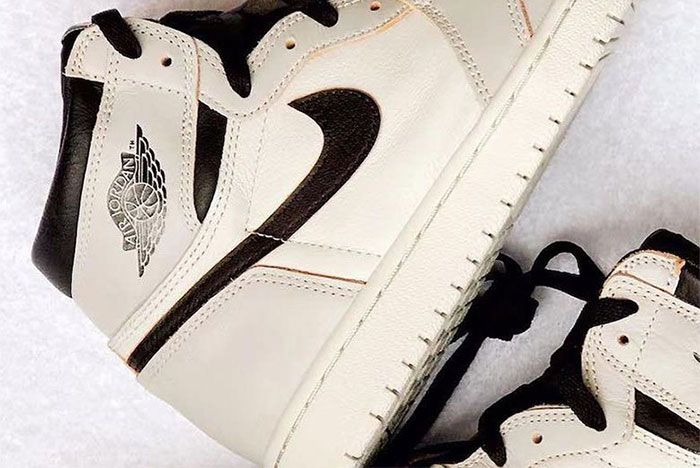 Air Jordan 1 Nike Sb White Black Grey 1