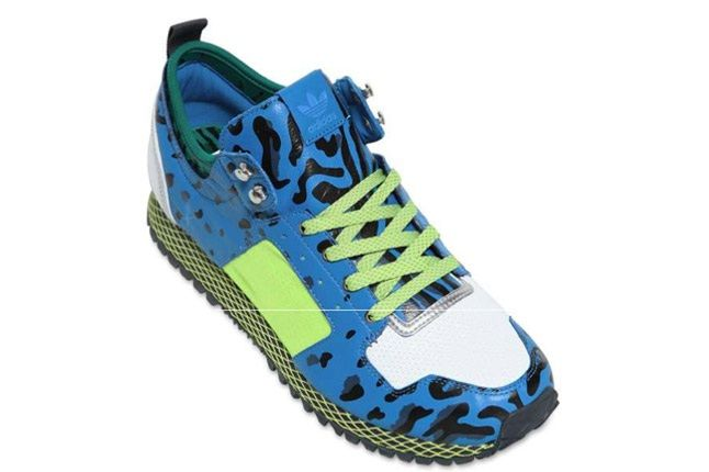 Adidas Opening Ceremony New York Leopard Blue Angle 1