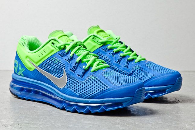 Nike Air Max Plus 2013 Blue Lime 2 1