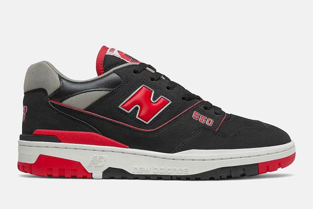 New Balance BB550 Black Red