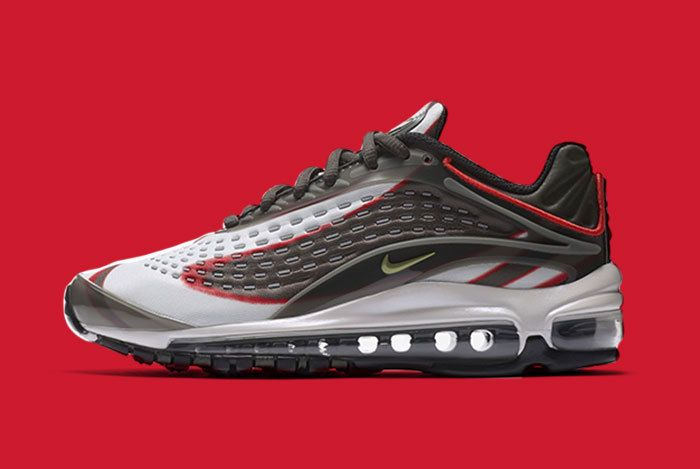 Nike Air Max Deluxe Grey Red 3
