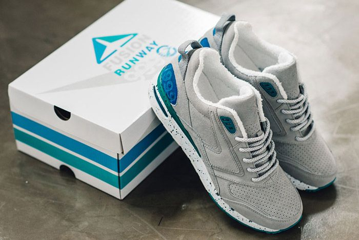 Casual Industrees Brooks Heritage Fusion Grey 4