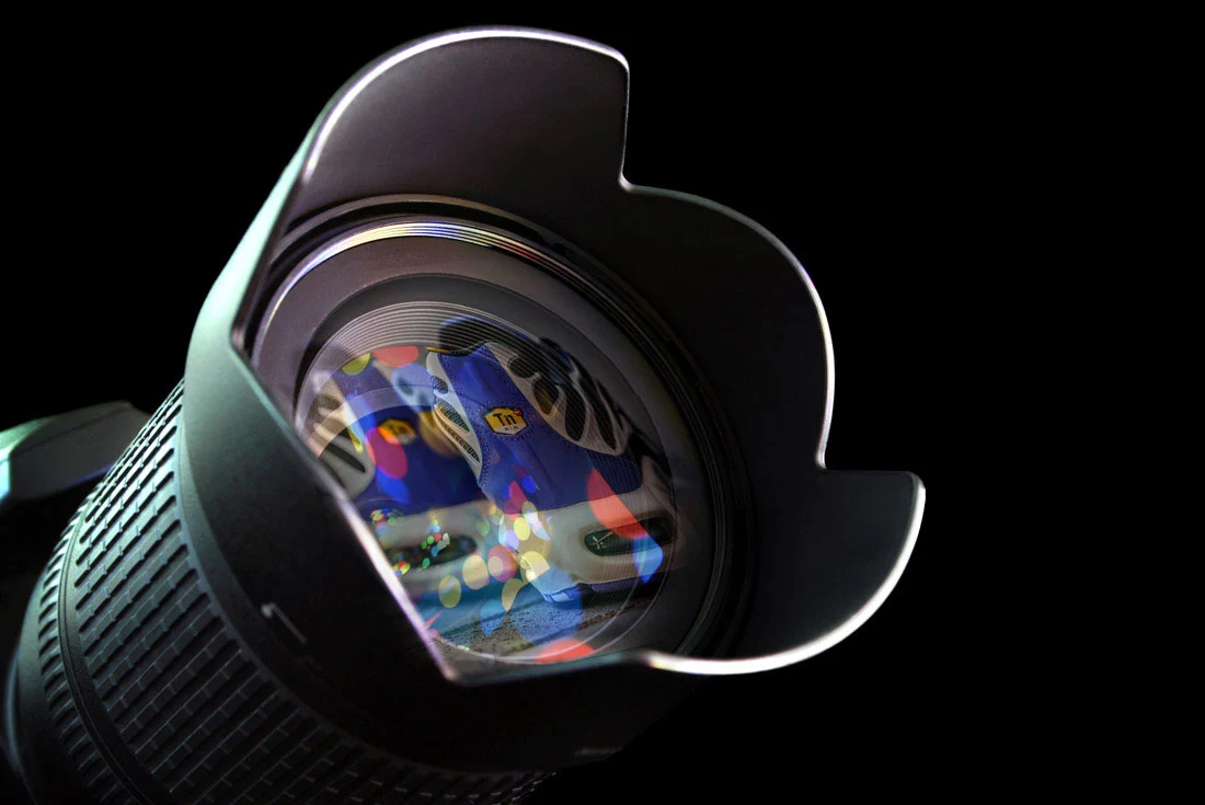 Sneaker Freaker Camera Lens