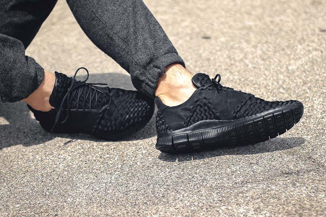 Nike Free Inneva Woven 2 Triple Black2